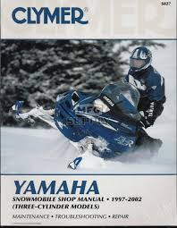 cs827 97 02 yamaha snowmobile shop manual 3 cylinder models