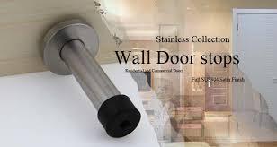 Decorative Door Stopper Decorative Door Stopper Stainless Steel Rubber Door Stop 3 5inch
