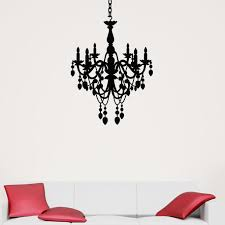 Chandelier Wall Decal Decals Stickers U0026 Vinyl Art Home Décor Home U0026 Garden