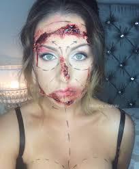 botched plastic surgery sfx makeup halloween party pinterest