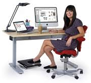 Anthro Sit Stand Desk Height Adjustable Desk Anthro Cart Elevate Ii Standing Workstations