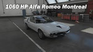 alfa romeo montreal race car how fast will it go 1970 alfa romeo montreal forza motorsport 7