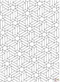 printable optical illusions printable illusions coloring pages 350142