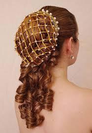 hair net renaissance ringlet hairpiece also