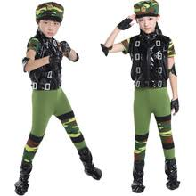 Military Halloween Costumes Kids Popular Army Dance Costume Buy Cheap Army Dance Costume Lots