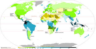 Africa Physical Map Africa Physical Map Of Inside Deserts The World Pointcard Me