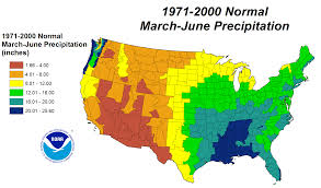 Rainfall Map United States by Drought June 2012 State Of The Climate National Centers For
