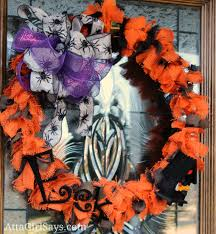 Black Halloween Wreath Handmade Wreaths For Every Season Atta Says