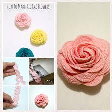 how to make ric rac flowers today u0027s creative life