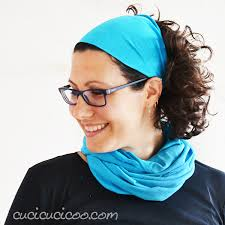 infinity headband how to make a 30 second infinity scarf and headband cucicucicoo