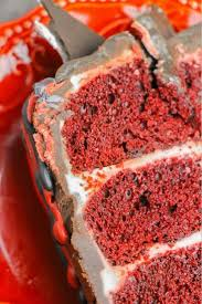 cinnamon heart red velvet cake sugar spice and glitter