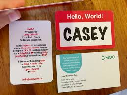Standard Us Business Card Size 64 Best Moo Cardoo Card Projects Images On Pinterest Moo Business