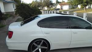 jdm lexus gs400 lexus gs on vossen cv3 youtube