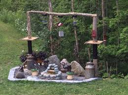 our bird feeding station fresh gardening ideas honey do
