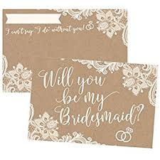 cards to ask bridesmaids will you be my bridesmaid cards 5 5 x 4 25 inches