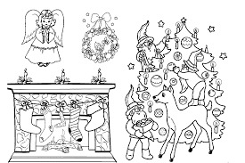 printable coloring pages christmas morning christmas coloring