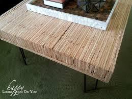 Plywood Coffee Table Impressive On Plywood Coffee Table Stacked Plywood Coffee Table