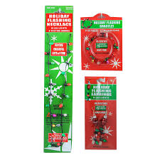 shop magic seasons assorted lighted christmas jewelry at lowes com