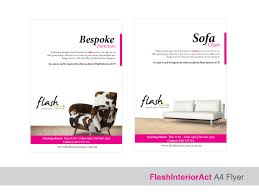 Modern Contemporary Furniture Stores by Bold Modern Newspaper Ad Design For Flash Interiors Act Pty Ltd