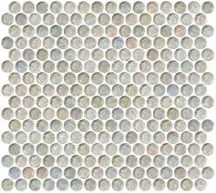 glass tile  penny round clear iridescent glass tile with penny round clear iridescent glass tile from susanjabloncom