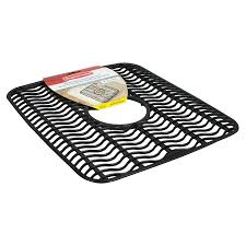 Rubbermaid Kitchen Sink Accessories Shop Rubbermaid 11 5 In X 12 5 In Sink Mat At Lowes