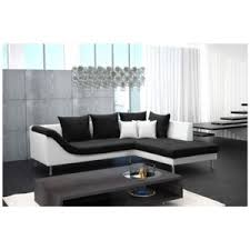canapé design cuir design canape d angle design cuir pu blanc et tissu palma