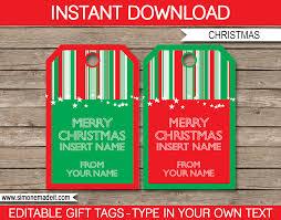 christmas gift tags template printable christmas gift tags