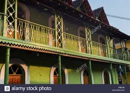 traditional style house portuguese quarter fontainhas panjim goa