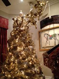 gold christmas tree exquisite professional christmas decor by