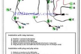 hid wiring diagram with capacitor hid wiring diagrams
