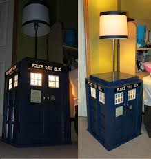 Tardis Bookcase For Sale Light Up Tardis Bedside Table With Built In Lamp 40 Steps With