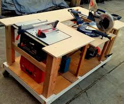 table saw bench plans bench decoration