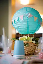 hot air balloon decorations vintage hot air balloon birthday party the celebration society