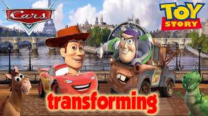 woody toy story buzz lightyear disney cars transforming games