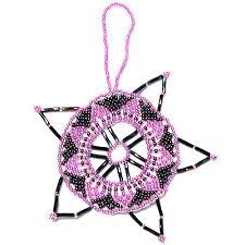 beaded ornaments from guatemala fair trade handmade