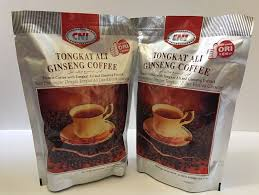 Kopi Tongkat Ali Ginseng Coffee lot of 2 cni tongkat ali ginseng 3in1 instant coffee total 40 sticks