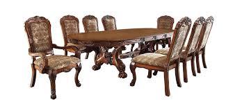 amazon com furniture of america victoria classic 9 piece dining