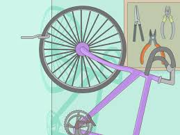 Hanging Pictures On Drywall by How To Hang A Bike On The Wall 14 Steps With Pictures Wikihow