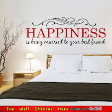 happiness married love family quotes wall stickers for living room happiness married love family quotes wall stickers for living room bedroom decor home decals house ornament mural art poster in wall stickers from home