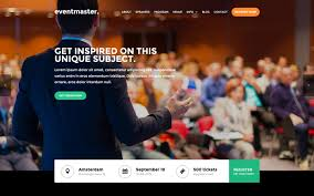 free template for website with login page best html5 responsive website templates webflow eventmaster