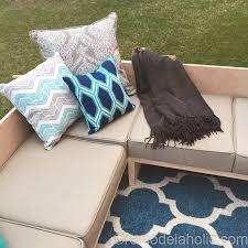 Diy Outdoor Sectional Sofa Plans Diy Outdoor Sectional Sofa Tutorial Building Plan