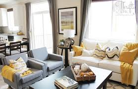 Grey And Yellow Home Decor Thrifty And Chic Diy Projects And Home Decor