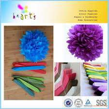 Hanging Flowers Color Tissue Paper Hanging Flowers Wedding White Tissue Paper