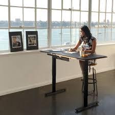Standing Or Sitting Desk Lift Standing Desks Bdi