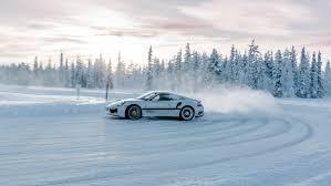 porsche 911 winter cold driving pleasure