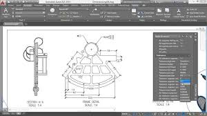 layout en autocad 2015 autocad working with dimensions