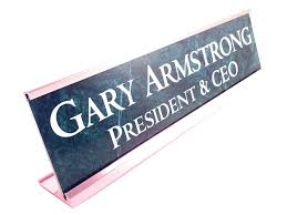 Desk Plates For Offices Desk Name Plates Office Our Aluminum Nameplates