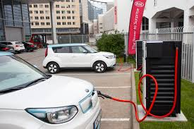 nissan leaf fast charger kia powers ahead with fastest ev chargers in europe