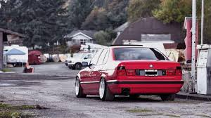 cars bmw red download wallpaper 1920x1080 bmw e34 532i tuning red cars