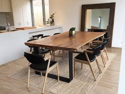 Timber Slab Table Australia Lumber Furniture - Timber kitchen table